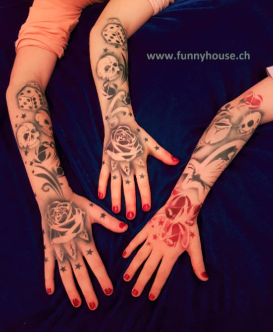 Airbrush Tattoos1