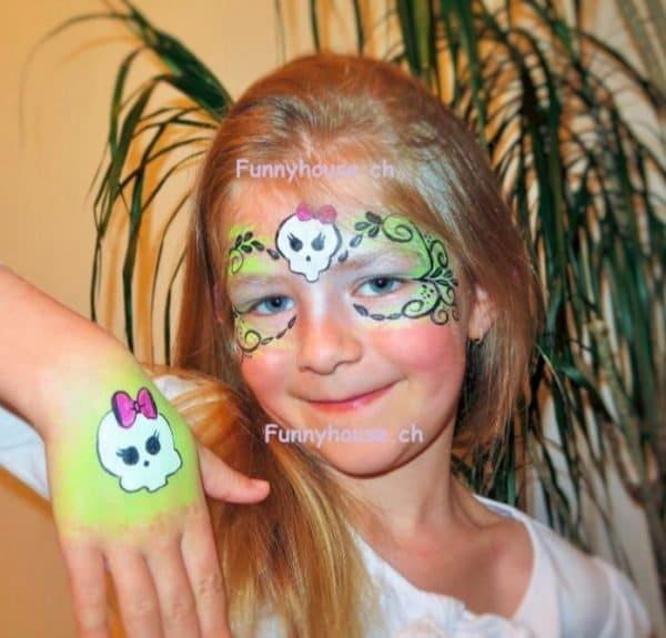 Kinderschminken Glittertattoos42