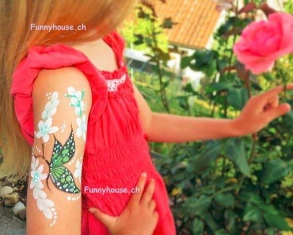 Kinderschminken Glittertattoos7