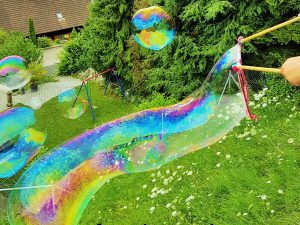 Riesenseifeblasen
