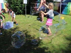 Riesenseifenblasen Funnyhouse